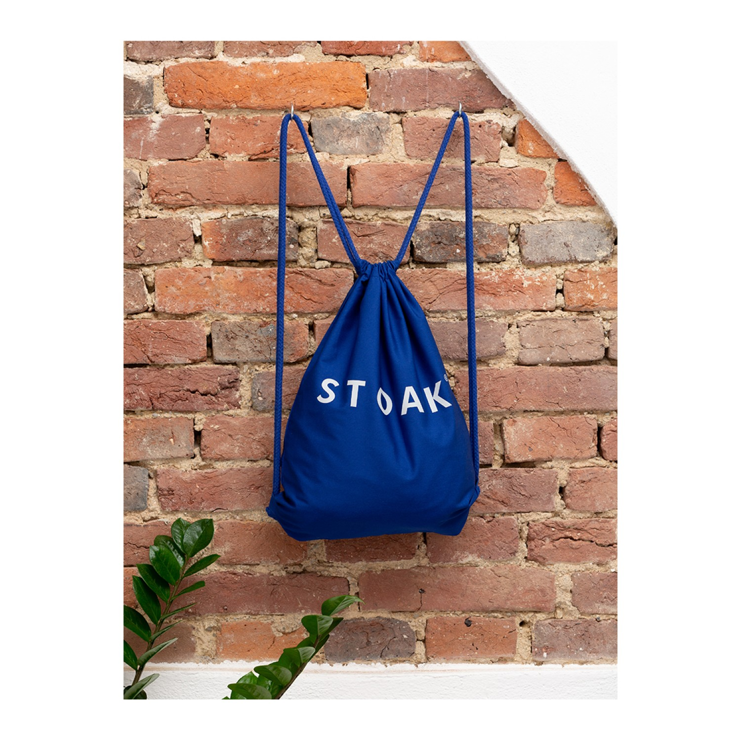 STOAK BLUE CRUSH Gym Bag (Organic Cotton)