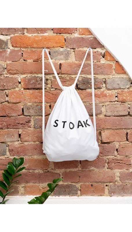 STOAK WHITE DIAMOND Gym Bag (Organic Cotton)