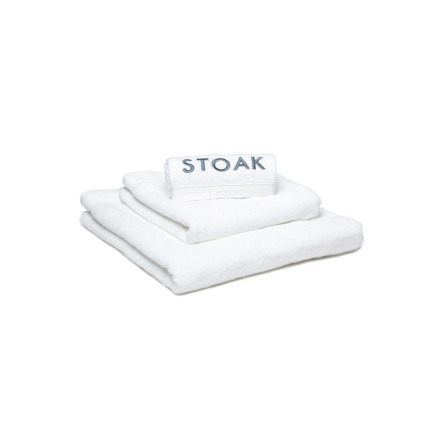 STOAK WHITE DIAMOND TOWEL (Organic Cotton)