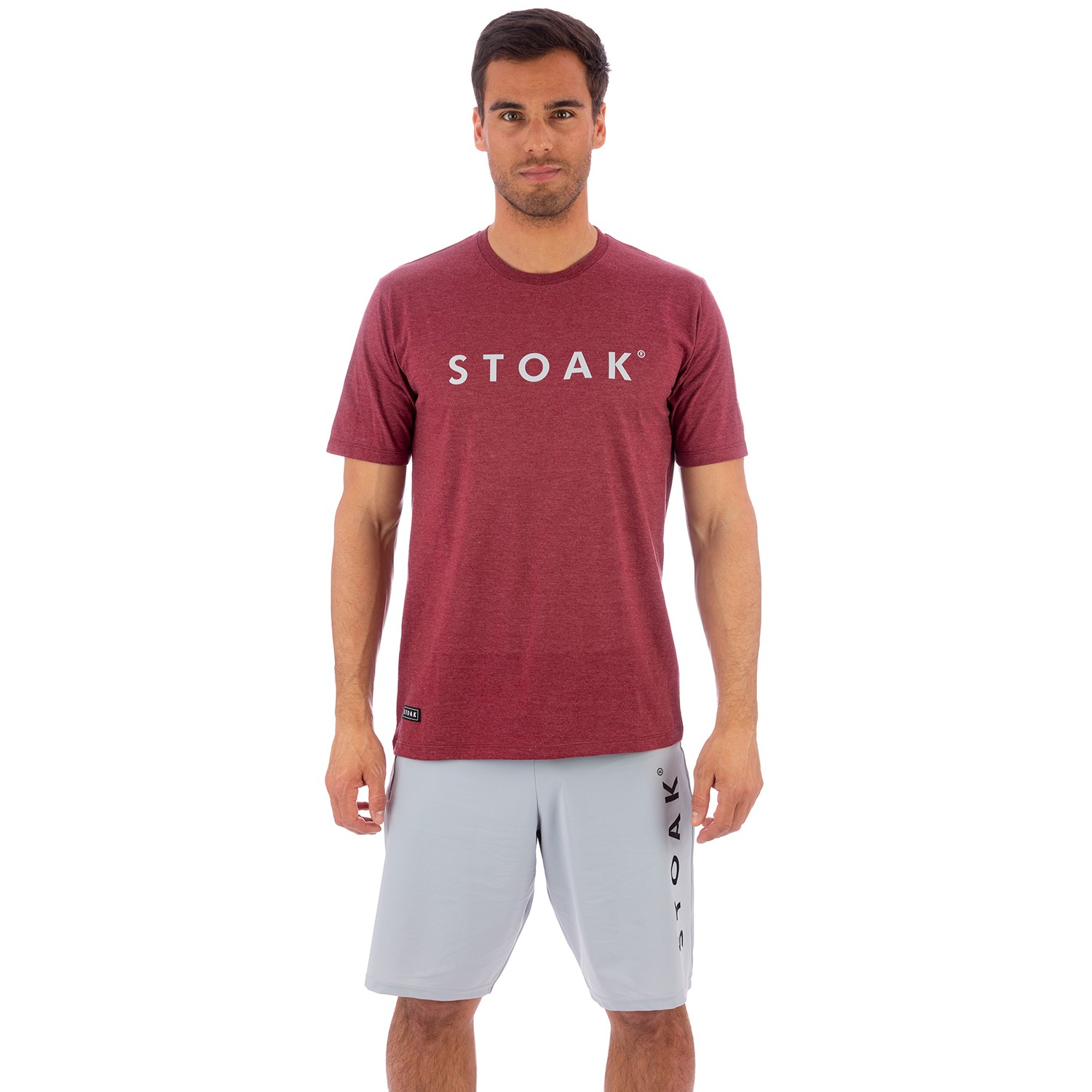 STOAK RUSH - ROCK Package T-shirt + Athletic Shorts
