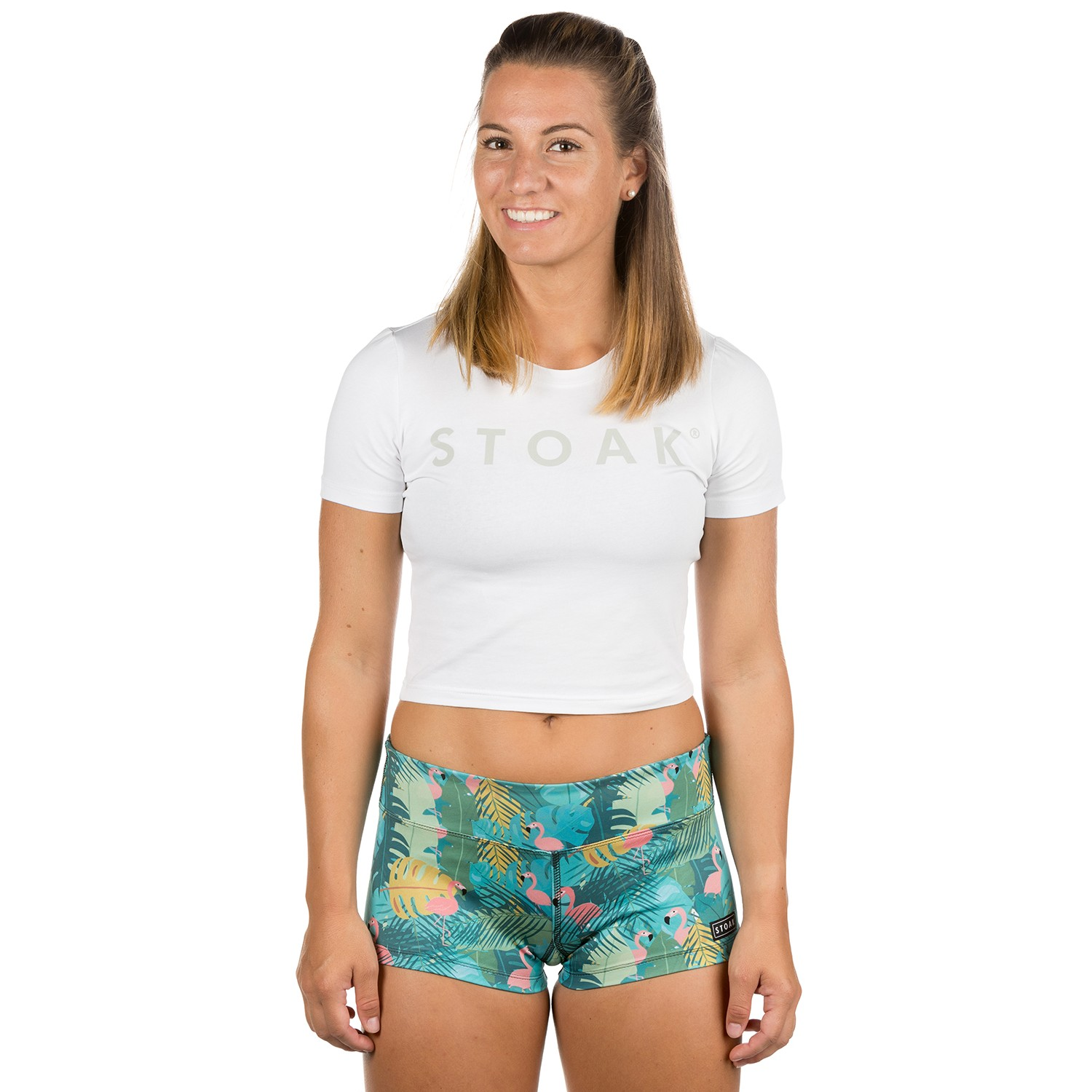 STOAK WHITE DIAMOND Crop Top