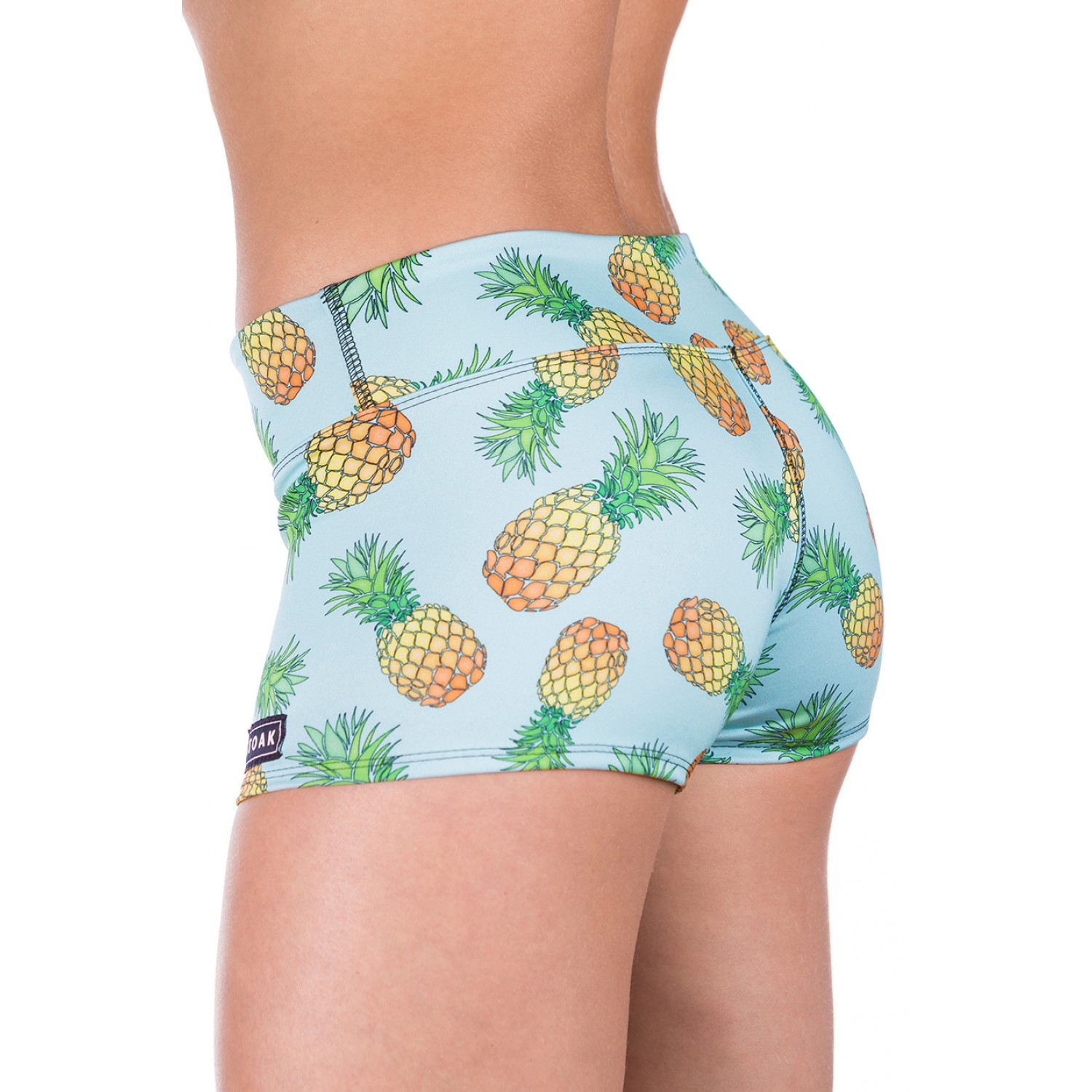 STOAK ANANAS MINT Athletic Shorts | Limited Edition