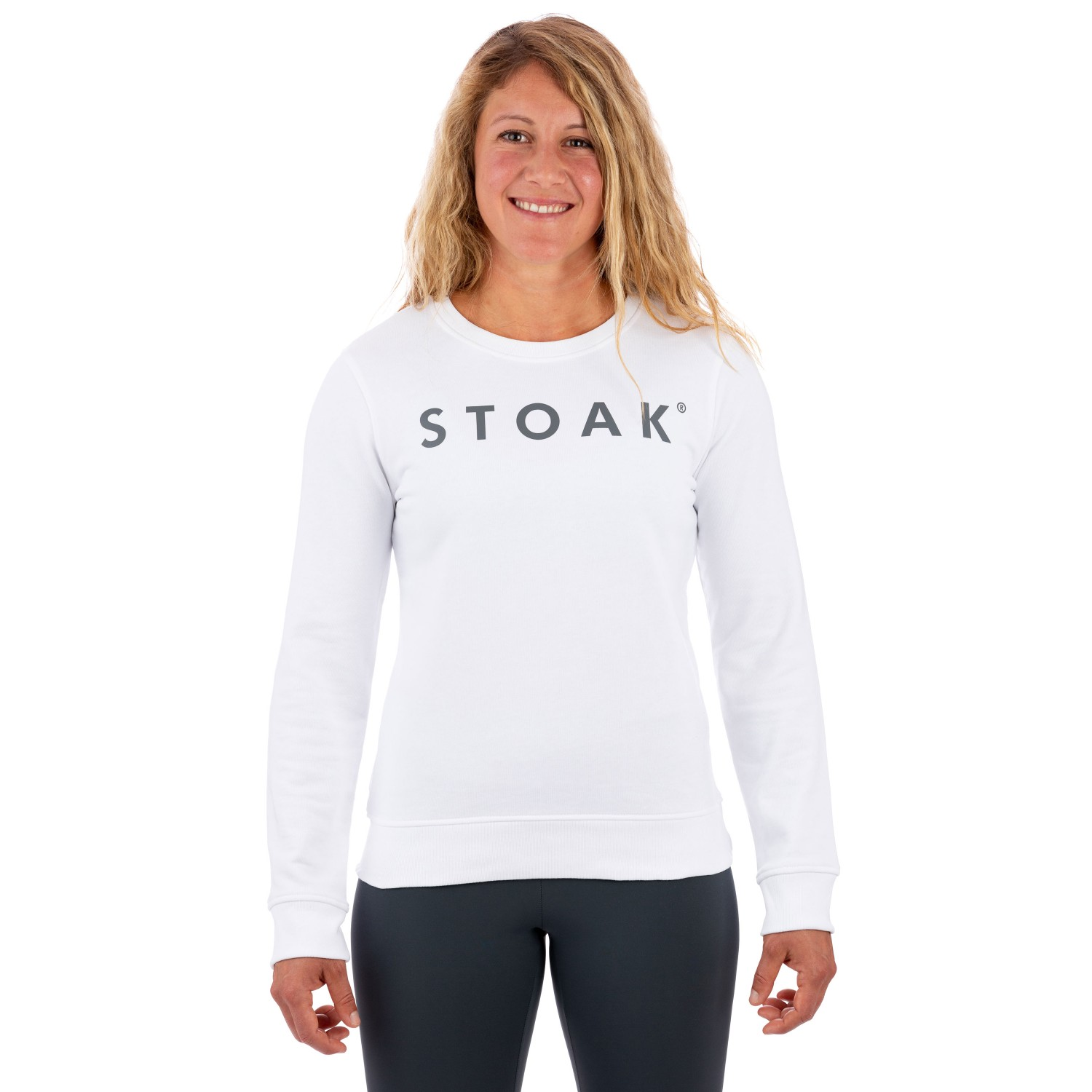 STOAK WHITE DIAMOND Crewneck